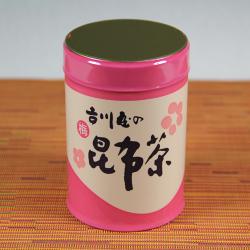 香り豊かな 梅昆布茶(缶入り)[イメージ]